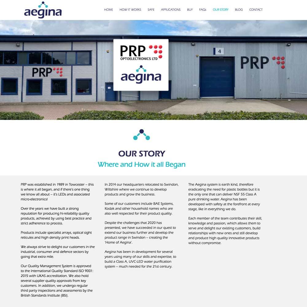 Website built for client in Swindon